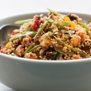 Heirloom Tomato-Bulgur Salad