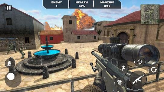 Call Of Army Survival War Duty -Battleground Games 4