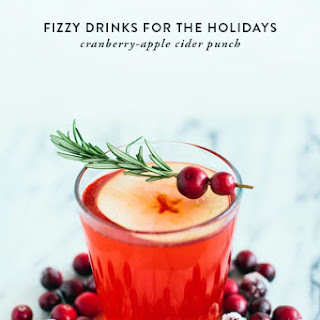 Cranberry-Apple Cider Punch.