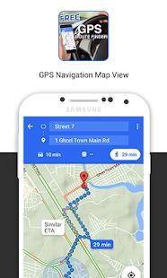 GPS navigace - náhled