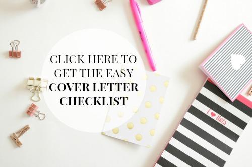 Booz cover letter