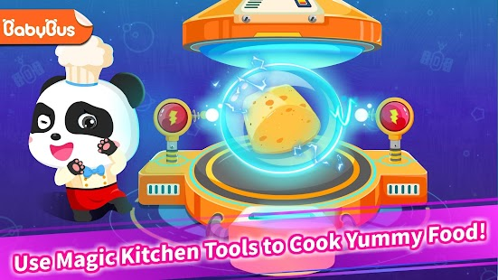 Panda Chef in Robot Kitchen-Kids Cooking - náhled