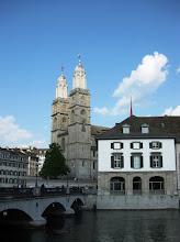 Photo: Grossmünster -kirkko