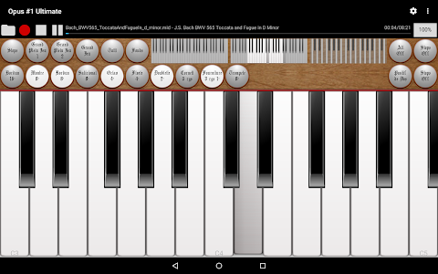 Opus #1 Ultimate-Organ Console screenshot 3