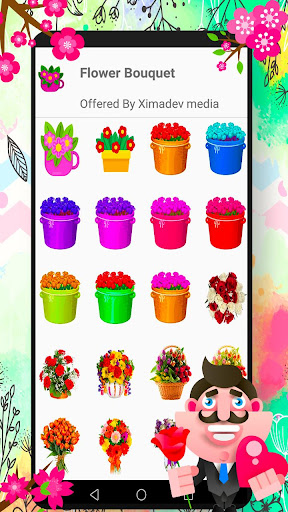 Download WAStickerApps Flowers 1.1 2