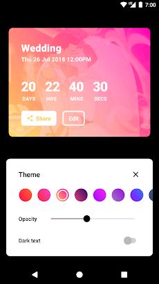Hurry - Countdown to Birthday/Vacation (& Widgets)のおすすめ画像3