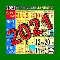 Islamic/Urdu calendar 2021 icon
