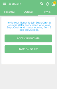 Zapp Cash- screenshot thumbnail