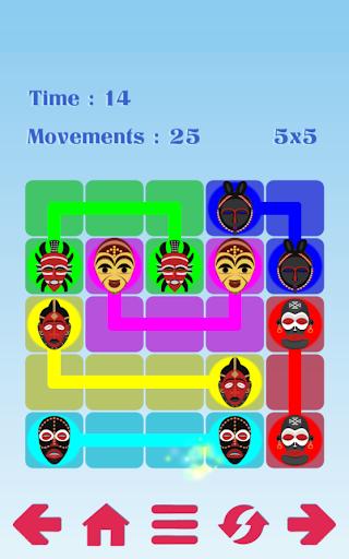 Africa History Mask Color Line