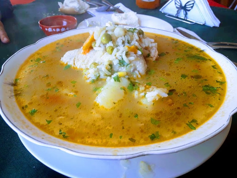 casuella soup in castro chiloe