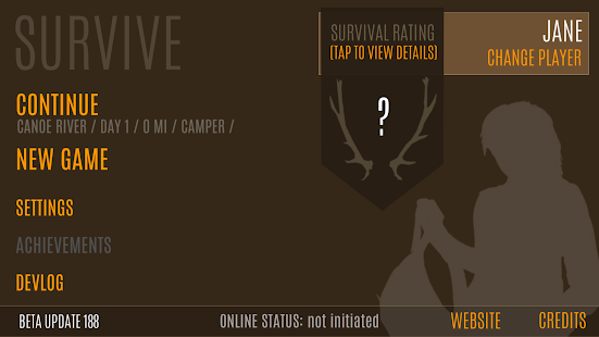 Survive - Wilderness survival Screenshot