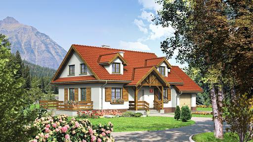 projekt Dom przy Modrzewiowej 2