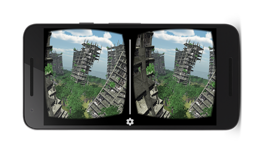 VR abandoned city 360  screenshots 4