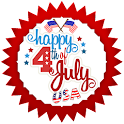 USA Independence Day Greetings icon
