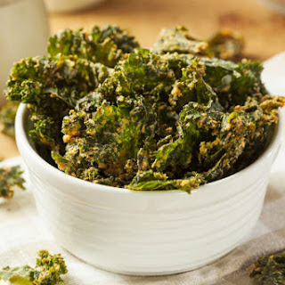 Kale Chips with a Kick