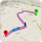 GPS Route Finder :GPS Maps Navigation & Directions Icon