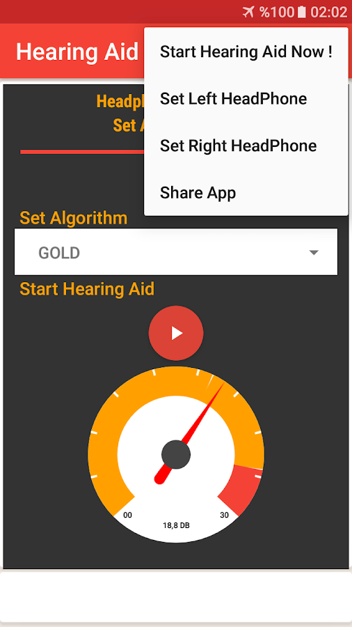 Hearing Aid Master (Crystal)- screenshot