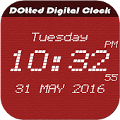 Dotted digital clock lwp free