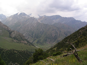 Photo: Tegermach, view from detour pass to Djumasay