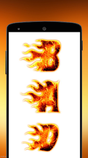Fire Screen Touch Prank screenshot
