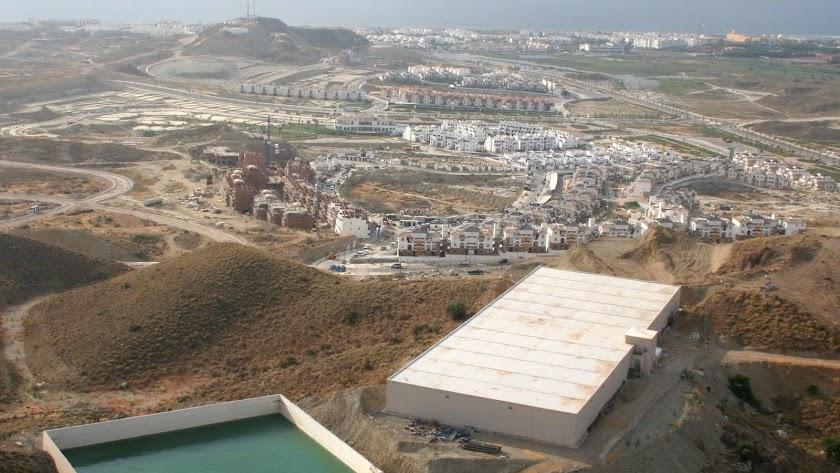 Instalaciones hidráulicas de Codeur en la costa de Vera.