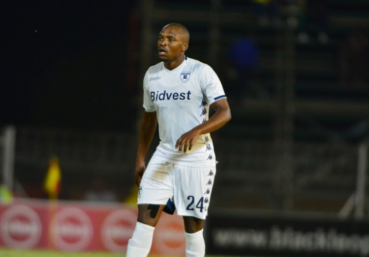 Gift Motupa of Bidvest Wits during the Absa Premiership match between Black Leopards and Bidvest Wits at Thohoyandou Stadium on December 01, 2018 in Thohoyandou, South Africa.