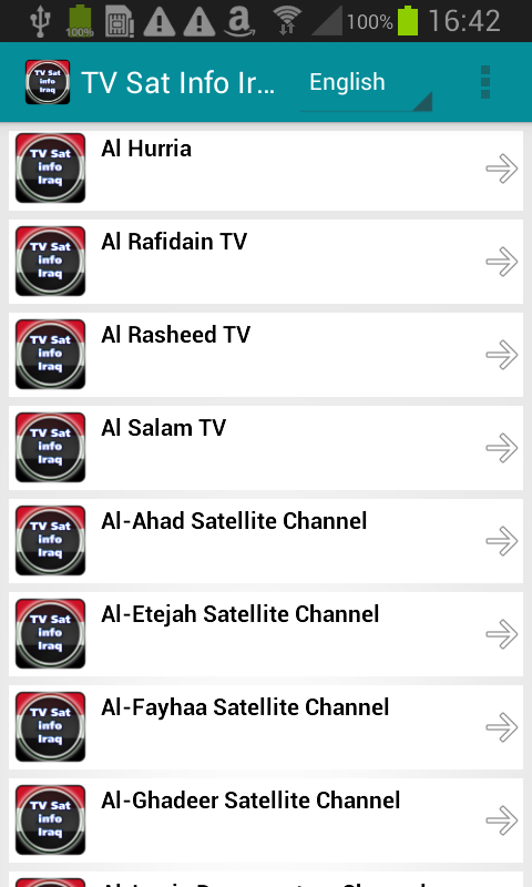 TV Sat Info Iraq- screenshot