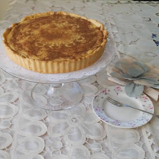 Traditional South African Milk tart.