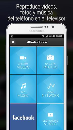iMediaShare – Fotos y música screenshot 1