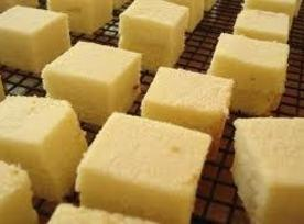 Bake 30 minutes in a moderate oven 350 degrees.   Invert cake; remove parchment paper;...