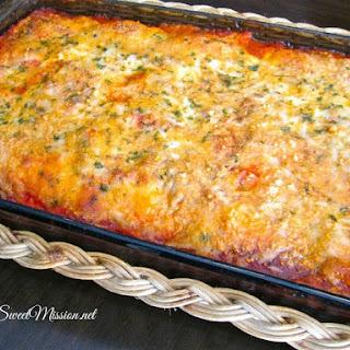Cheese Ravioli Lasagna