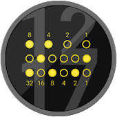 Elegant Binary Watch Face