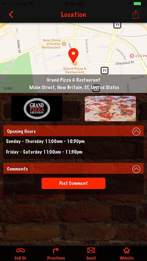 Grand Pizza & Restaurant- screenshot