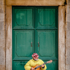 Street Music by Zeljko Marcina - People Musicians & Entertainers ( music, street, croatia, trogir, musician, guitar, entertainer )