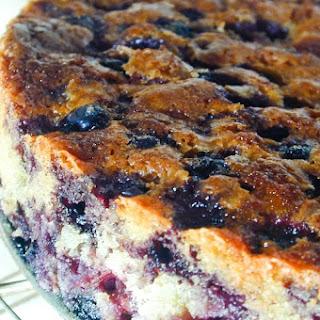 Blueberry Coffee Cake.