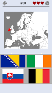 European Countries - Maps, Flags and Capitals Quiz - náhled