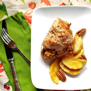 FApple Pecan Stuffed Pork - It's Time for Fall