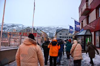Photo: We are in Hammerfest - the northern most city in the world