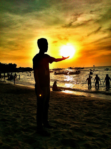 Catch The Sun by Nova Aryanto - Instagram & Mobile Android ( sky, sunset, indonesia, beach )