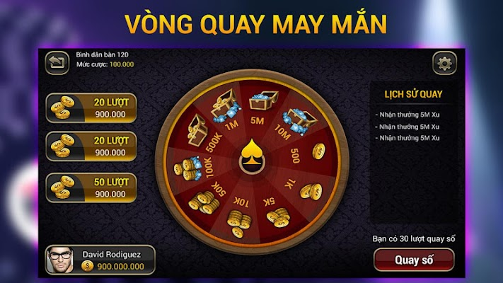 Game bài VBem - screenshot
