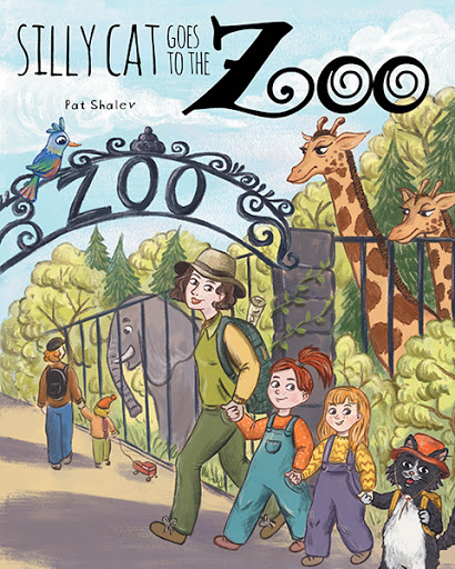Silly Cat Goes To The Zoo cover