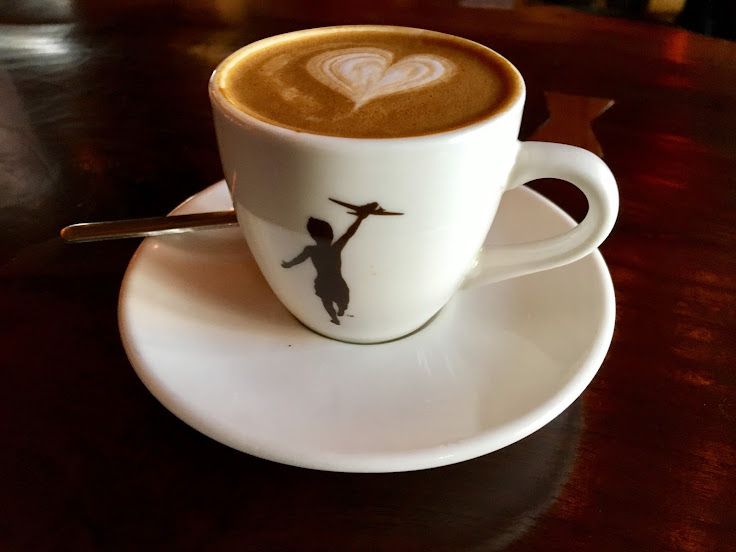 The Storyville Macchiato.