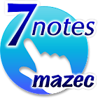 7notes with mazec (Japanese) icon