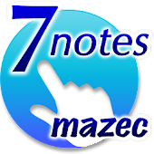 7notes with mazec (手書き日本語入力)