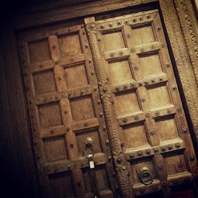 Timberland.. by Genesis Carabeo - Instagram & Mobile Android ( wood, metal, door )