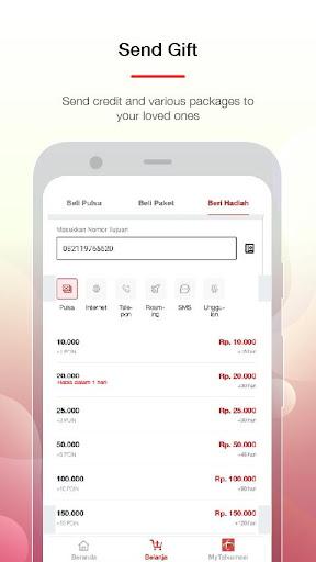 MyTelkomsel Lite – Check Quota & Buy Package screenshot 7
