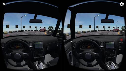 VR racing screenshot