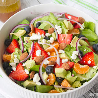 Berry Citrus Salad with Honey Lime Vinaigrette