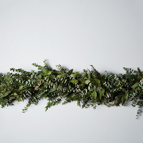 Cedar & Eucalyptus Holiday Garland