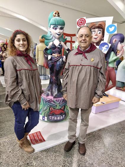 Cuenca Tramoyeres en la Exposición del Ninot 2020
